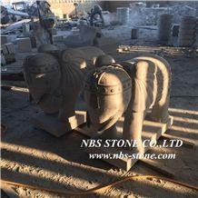 Stone Animal Statues,Grey Granite Animal Sculpture
