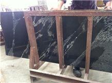Beautiful Kashmir Black Granite Small Slabs India Black Granite Tile & Slab