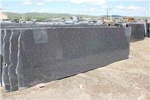 Royal Black Diamond Granite Small Slabs China Black Granite Tiles & Slabs