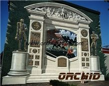 Carved Natural Marble Door Sills & Window Sills