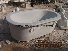 Hand Carved Stone Bathtubs, White Marble Bathtubs
