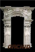 Hand-Sculptured Marble Door Sills & Window Sills