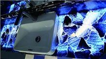 Blue Aventurine Stone Countertop Semiprecious Vanity Tops