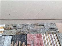 China Black Slate Cultured Stone,Stacked Stone/Ledge Stone/Cultured Stone for Wall Panel Covering Veneer