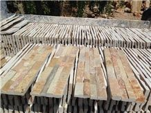 China Rust Slate Stacked Stone Veneer/Cultured Stone/Ledge Stone for Wall Cladding
