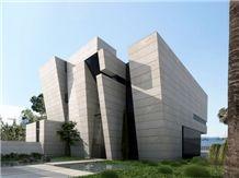 Travertine Navona Select Facade, Beige Travertine Building & Walling Italy