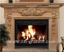 China Handcarved Natural Marble Fireplace,Interior Decoration,Wholesaler-Xiamen Songjia