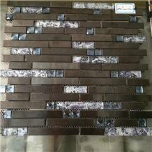 Indoor Decoration,Home Landscaping Polished Marble Mosaic,Cheap Brick Mosaic,Cheap Price Walling Tiles Mosaic Pattern,Hot Sale Flooring Mosaic,Polished Crystal Pattern Mosaic