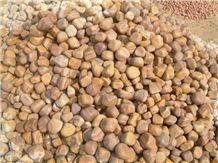 Rainbow Sandstone Pebbles, Indian Rainbow Sandstone Pebble Stones