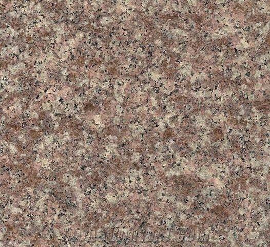 Copper Rose Granite Slabs Tiles China Lilac