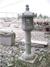 China Blue Limestone Lantern,Bluestone Lantern,Japan Style Lantern