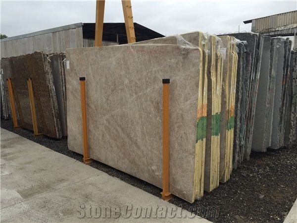 Ice Flakes Quartzite Slabs From Brazil