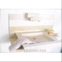 Beige Marble Basins & Sinks
