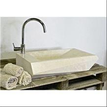 Beige Marble Sinks & Basins Italy