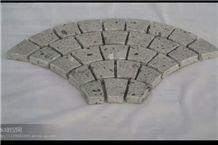 Cecilia White Granite Cube Stone