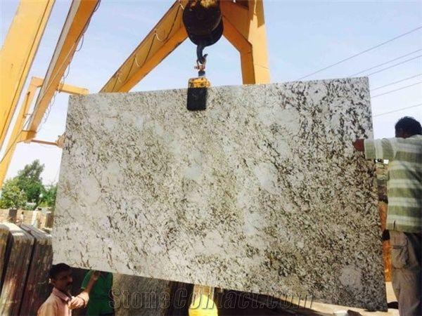 Alaska White Granite Tiles Slabs White Polished Granite