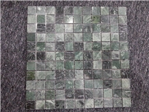 Indian Green Marble Mosaic Tile,Green Stone Mosaic