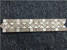 Marble Mosaic Border, Marble Mosaic Polished Tile