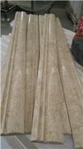 Perlato Svevo Marble Moulding Border Tile
