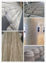 Stone Project Special Shape Moulding Border Column