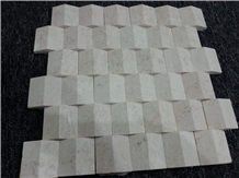 Sunny Beige Marble Mosaic Tile,Beige Marble Mosaic