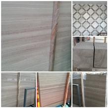 White Wood Marble Slab,Grey Serpegiante Marble