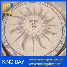 Cheap Sunflower Round Mosaic