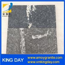 Granite Black Via Lactea Tiles,Jet Mist Granite