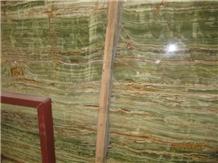 Bamboo Onyx Slab, Iran Green Onyx Slab,Walling