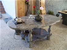 Huaan Jade Stone Tables Tops,Tea Table Furniture
