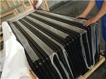 Mengolian Black Granite Basalt Counter Top,Worktop