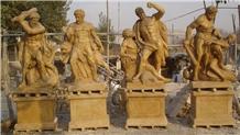 Sculpture,Garden Sculpture,Outdoor Angel Sculpture