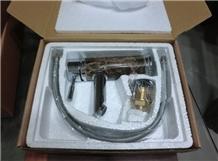 Emperador Dark Marble Faucet Mixer Tap Sink Basin