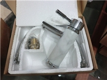 Stone Faucets,Bianco Carrara Marble Faucet