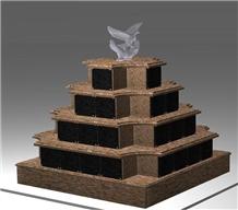 Granite Cremation Columbarium Niche Cemetery Niche