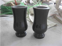 Monumental Vases Granite Glower Holders