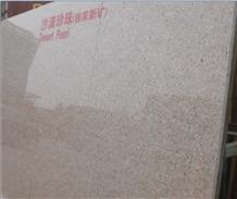 Desert Pearl Granite China Pink Flooring Tile
