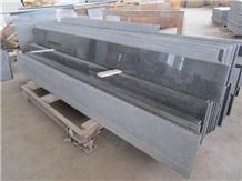 G654 Flake Grey New Jasberg Granite Stairs