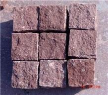 Red Porphyry G699 Paving Granite Da Yang Red
