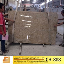 Rusty Yellow Beige G682 G350 Granite Slabs Tiles