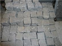 Zhangpu Black Natural Split Granite Paving Stone
