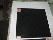 China Black Granite Polished Flooring Cover Tiles