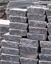 China Blue Limestone Tumbled Stone Pavers