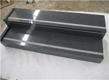 China G654 Step,China Padang Dark Granite Steps