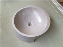 Cinderella Grey Marble Sinks & Washing Basins