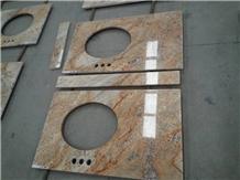 Empire Golden Granite Tops Bath Standard Tops