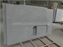 G603 Countertop, Light Grey Granite Kitchen Tops
