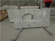 Rose White Granite Vanity Tops Bath Custom Tops