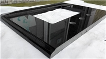 Shanxi Black Granite Bathroom Vanity Tops