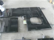 Shanxi Black Granite Countertop Custom Kitchen Top